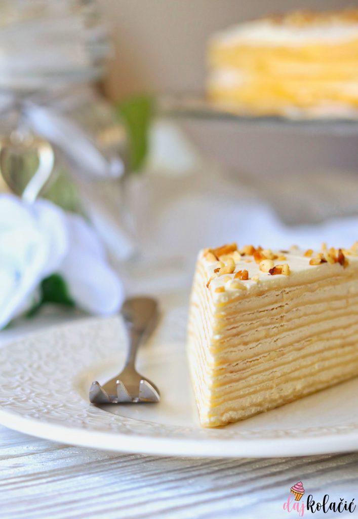 Mille Crepe torta