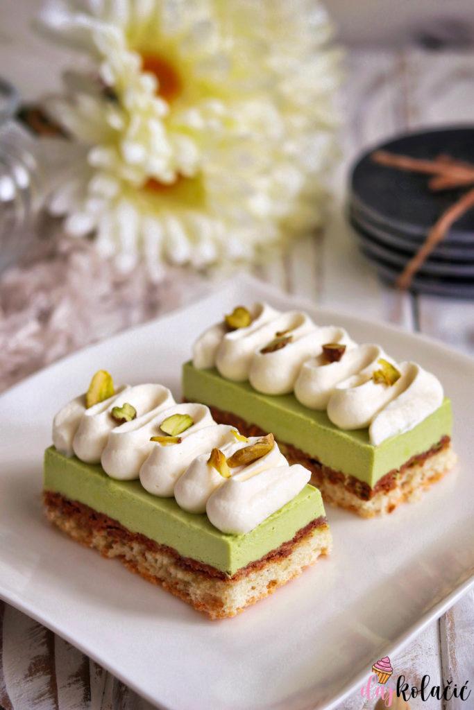 Kolačići od pistacija i bijele čokolade