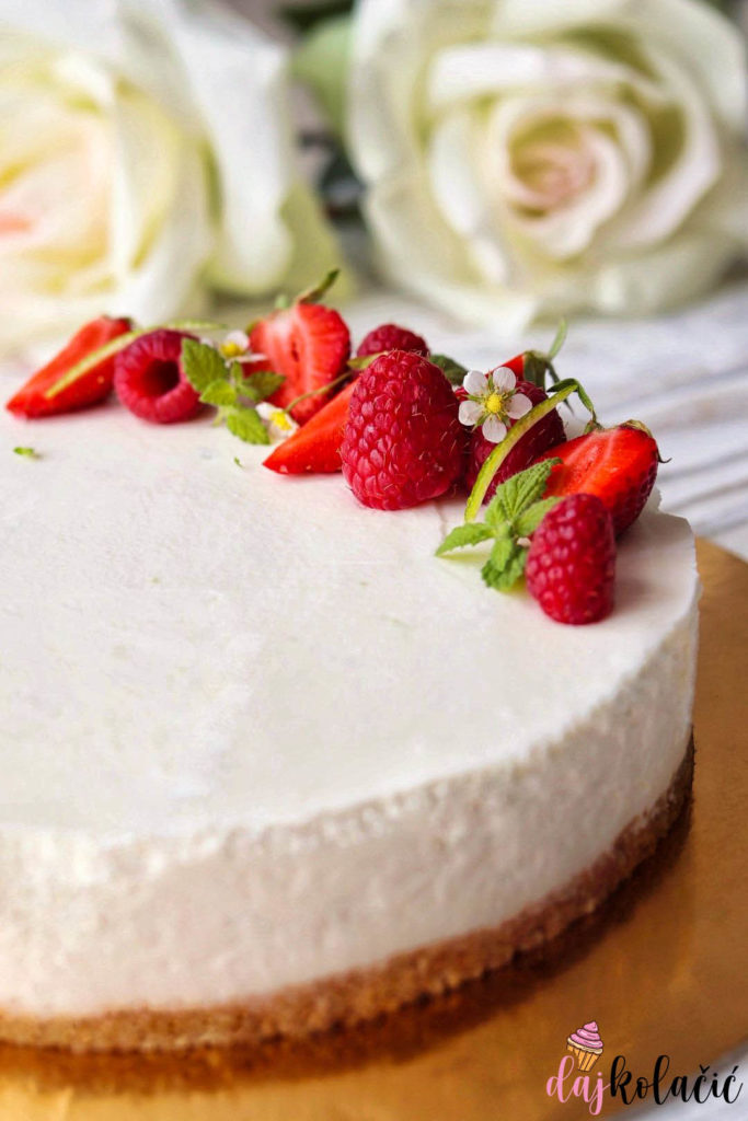 Torta od jogurta i limete bez pečenja